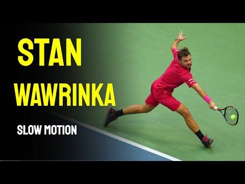 Stan Wawrinka Slow Motion - 2014 Cincinnati Masters 1000