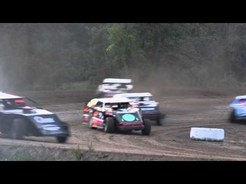 UMP Modified Crash at Silver Bullet Speedway
