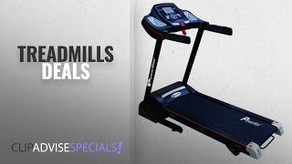 Treadmills On Amazon Great Indian Sale (2018): Powermax Fitness TDM-100S Motorized Treadmill with