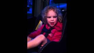 3 year old singing Mudvayne