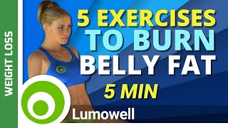 5 Exercises That Burn Belly Fat Fast