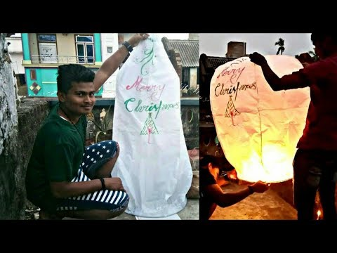 🆕How to make simple paper sky lantern 😱😱 a2hack