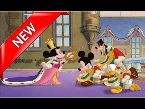 Mickey donald et dingo les trois mousquetaires mickey - Donald et dingo ...