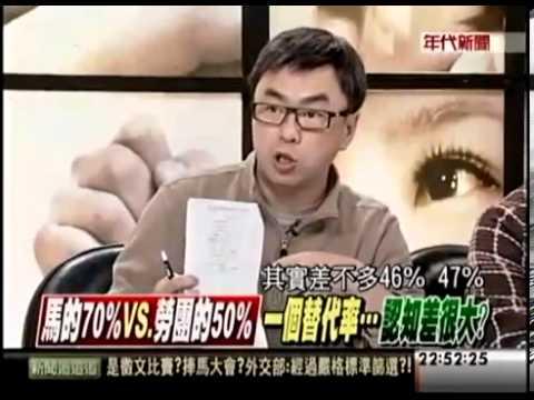 段宜康批馬英九又笨又壞!安幼琪偷笑(年代新聞)