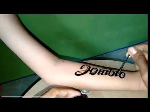 Tatto Nama Kren 3 Minggu Hilang Youtube