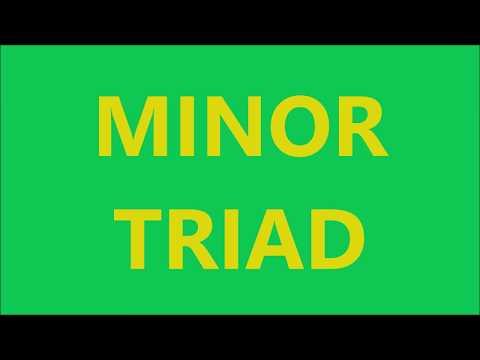 MINOR TRIAD