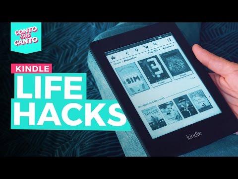 Tudo o que você pode fazer com um Kindle | Conto em Canto