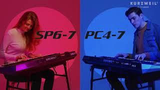 Kurzweil PC4-7 and SP6-7