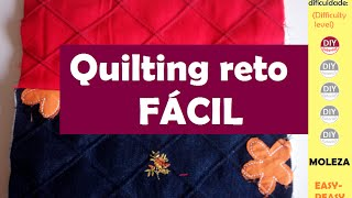 Quilting reto FÁCIL