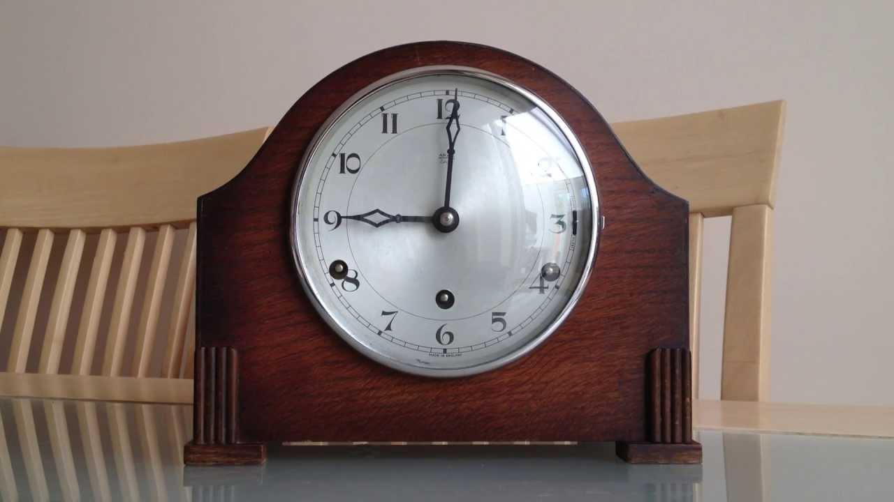 English made mantel clocks