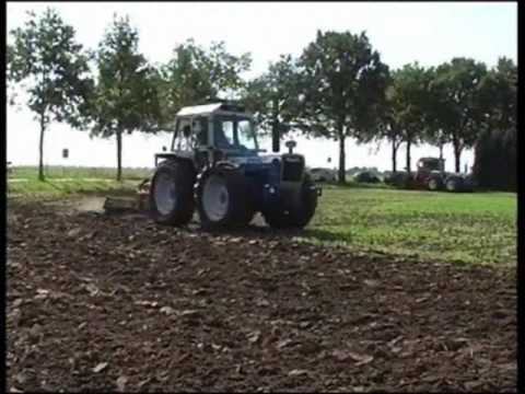 county tractor working day holland