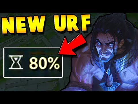 THE ONLY URF SYLAS VIDEO ON YOUTUBE + NEW URF MODE | League of Legends thumbnail