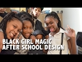 Three Little Black Girl Magic - After School Graphic Design In Cleveland Ohio