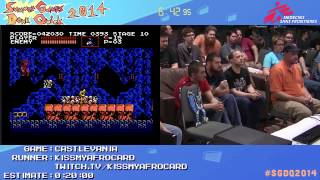 Summer Games Done Quick 2014 - Part 130 - Castlevania