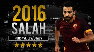 Mohamed Salah 2015/16 ● Best Runs | Skills | Goals ● AS Roma ● HD