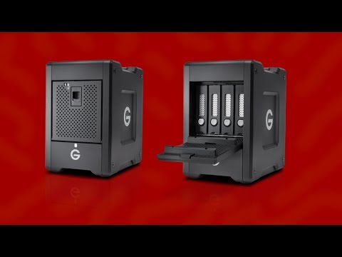 G-Technology G-SPEED Shuttle 4-Bay Raid Array