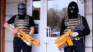 Nerf War: Snipers Vs Thieves Part 3