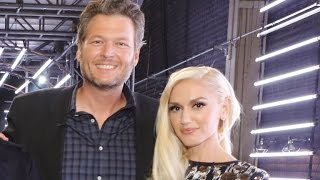 Inside First Live 'Voice' Show - Blake Shelton and Gwen Stefani Couldn't Keep Eyes Off Each Other