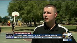 Final Four player reflects on teammate who died last year