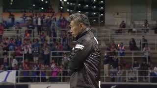 碓井 鉄平(長崎)がPKをゴール正面に蹴り込み、アウェイの長崎が試合終...