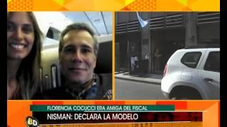 Declara la supuesta novia de Nisman - Telefe Noticias