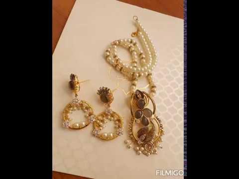 gold-plated-semi-precious-stones-egyptian-choker-sets
