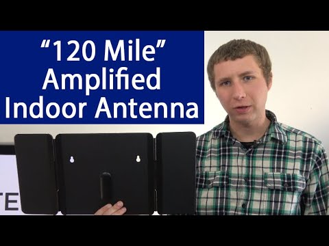 1byone 120 Mile Amplified Indoor HD Digital TV Antenna Review