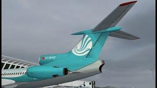[FSX] Flight OTM010 LTAC - LCPH Flight (Tu-154 b2 RA-85481 IVAO)