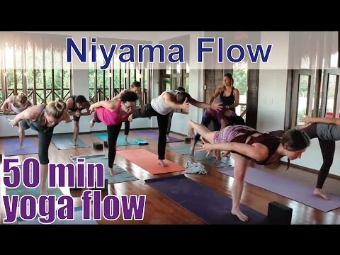 50 Minute Yoga Class - 8 Limbs of Yoga Part 2: Niyama