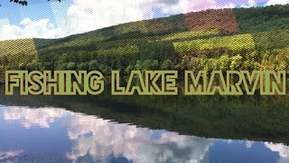 Fishing Lake Marvin / East Armuchee Creek and Exploring Dry Creek Trail Roads