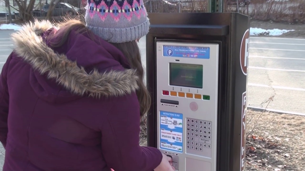 USING BIDDEFORD'S PARKING KIOSKS AND WAY TO PARK APP