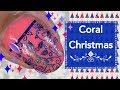 Coral Christmas Nails || EC Cosmetics || Plus Discount Code