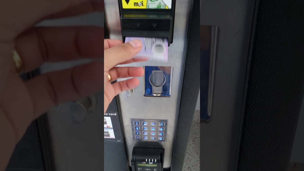 New 5 Dollar Note Vending Machine Rejection