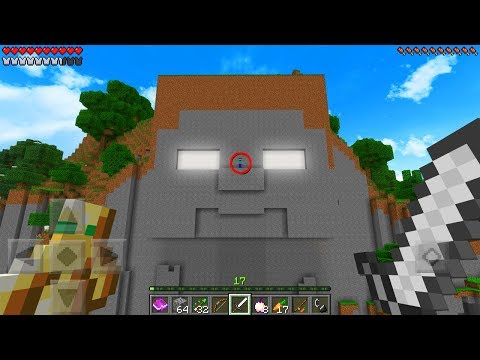 Do NOT Enter The Temple of HEROBRINE in Minecraft Pocket Edition
