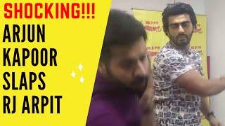 Shocking!!! Arjun Kapoor slaps Radio Mirchi RJ