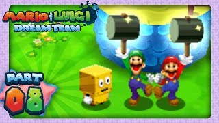 Mario & Luigi: Dream Team - Part 8 - Mushrise Park