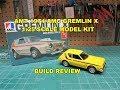 AMT 1974 AMC GREMLIN X 1:25  MODEL KIT BUILD REVIEW AMT1077