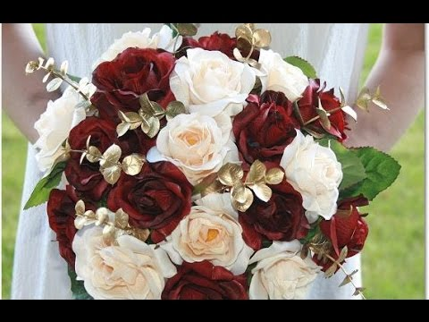 wedding-bouquet-burgundy