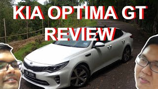 Kia Optima GT Review