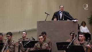 Reportagem produzida para o site do TRE Minas sobre a cerimônia de posse dos novos presidente e vice-presidente/corregedor do TRE-MG, ...