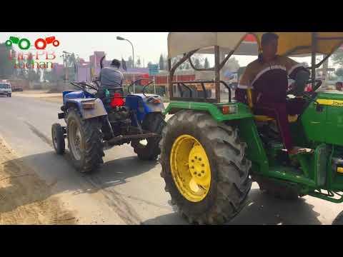 John Deere 5039 Vs Sonalika 35 Tractor Tochan In Panipat