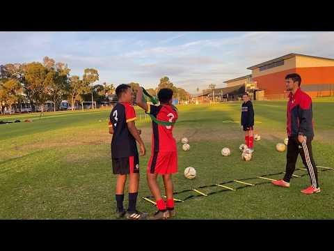 THE BEST AWARENESS DRILL! (Seriously) - Adelaide Private Small Groups Soccer Coach