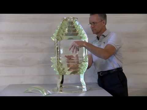 Vermilion Lighthouse Fresnel Lens Manufacturing 2016
