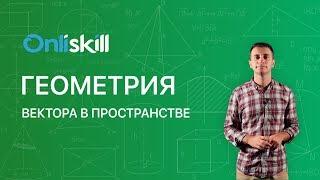 Геометрия 11 класс: Вектора в пространстве