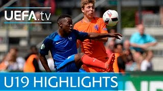 Under-19 highlights: Netherlands 1-5 France