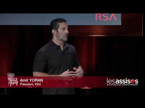 LES ASSISES 2016 - Keynote RSA avec Amit YORAN