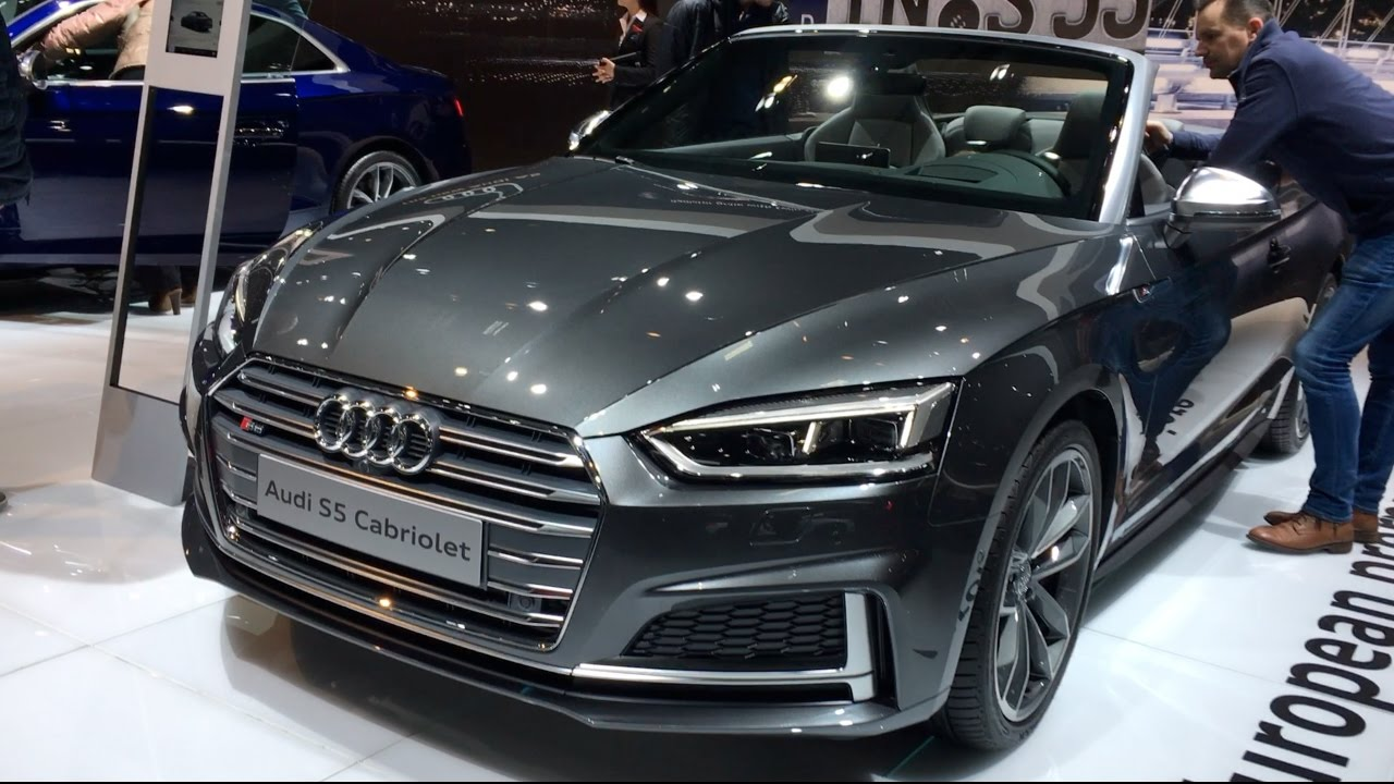 all new audi s5 cabriolet 2017 in detail review walkaround interior exterior funnydog tv. Black Bedroom Furniture Sets. Home Design Ideas