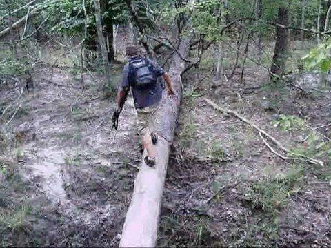 Day hiking trip