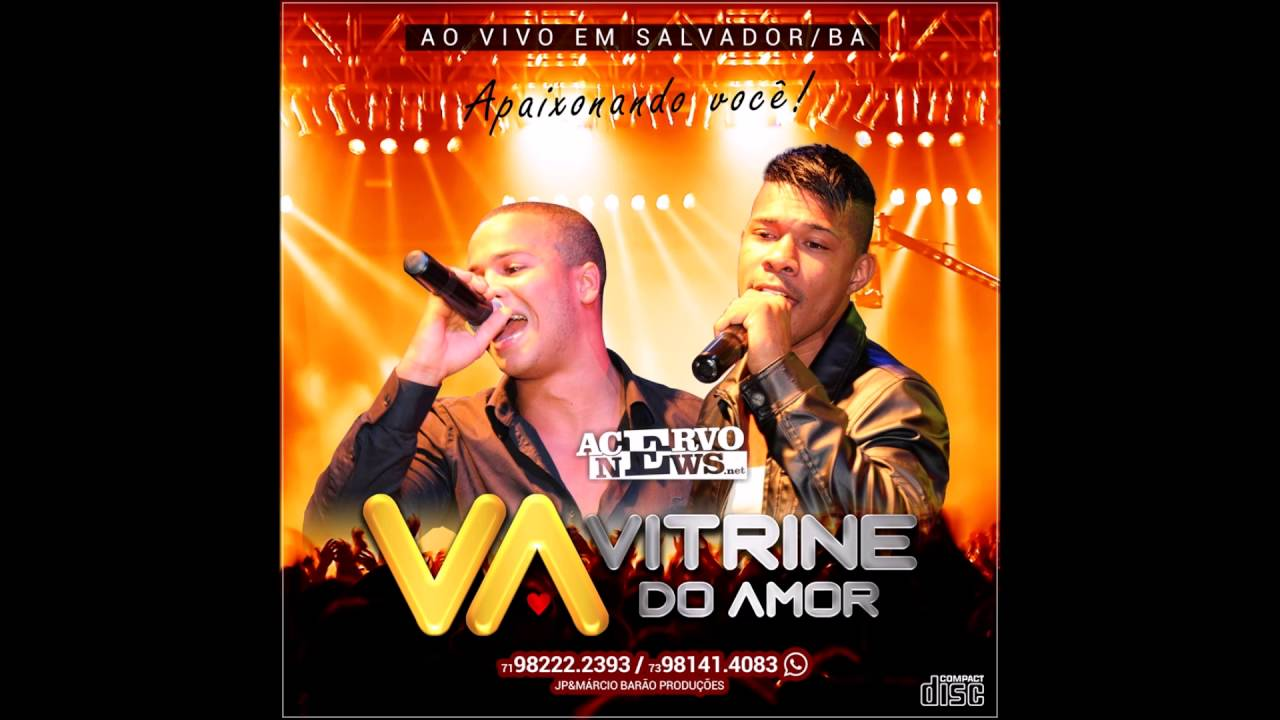 Cd Vitrine Vitrine Do Amor Ao Vivo Cd 2017 Cd Completo