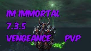 IMMORTAL - 7.3.5 Vengeance Demon Hunter PvP - WoW Legion